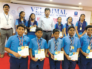 Olympiad Achievers Felicitated
