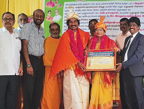 அமுதா பாலகிருஷ்ணனுக்கு மூன்று விருதுகள்..!